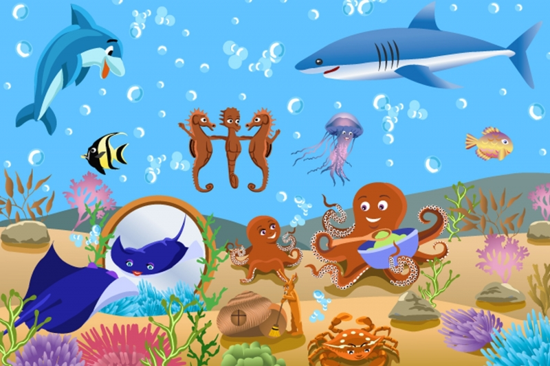 Popular childrens wallpaper murals buy cheap childrens for Child mural wallpaper