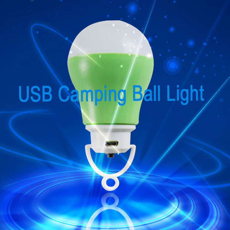 Lampadas De Led DC 5W USB Ball Bulb Portable Night Light Luminaria Led Bulb Rechargeable Linterna Camping Tent Light 12 Colors(China (Mainland))