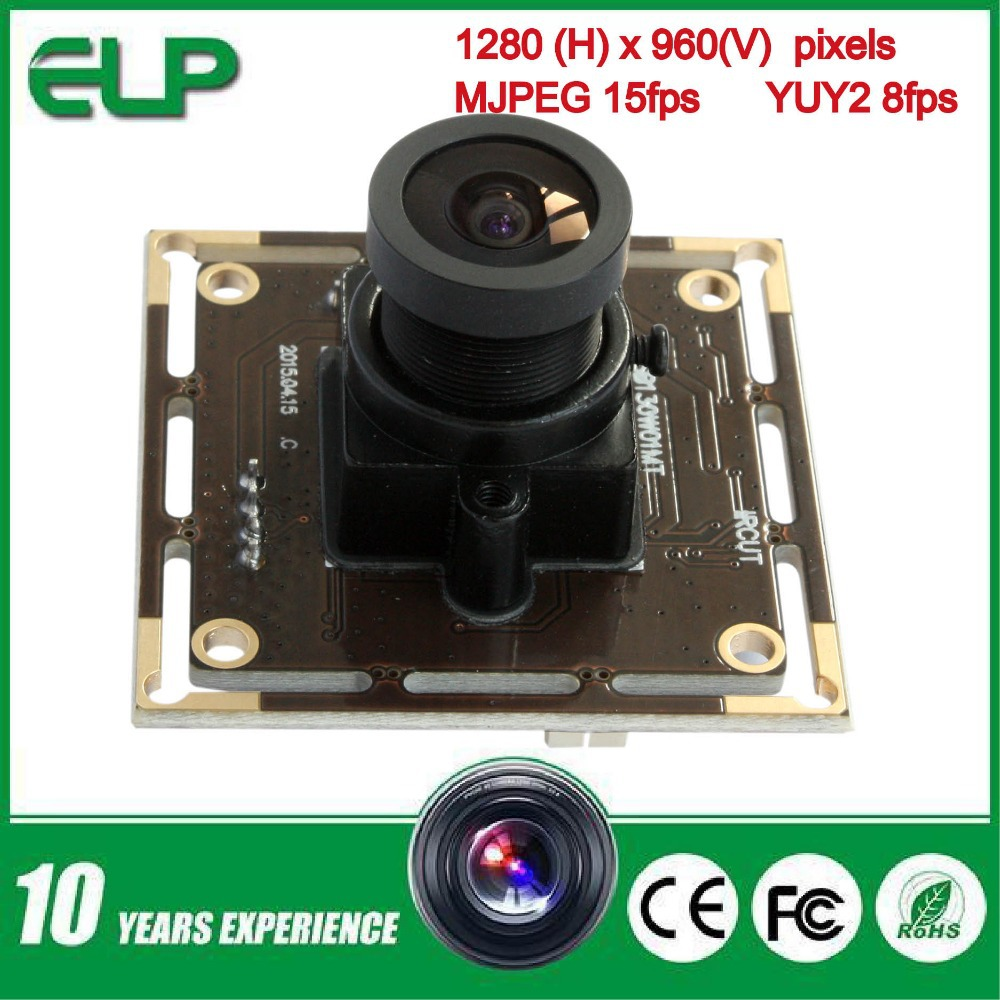 2.1mm lens AR0130 1/3 CMOS 1.3 Megapixel HD digital low illumination 0.01lux wide angle USB camera module for Android/Linux(China (Mainland))