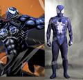 MovieCoser Best Quality New Venom Cosplay Costume Venom Spandex Zentai Suit Venom Lycra Muscle Cosplay Suit