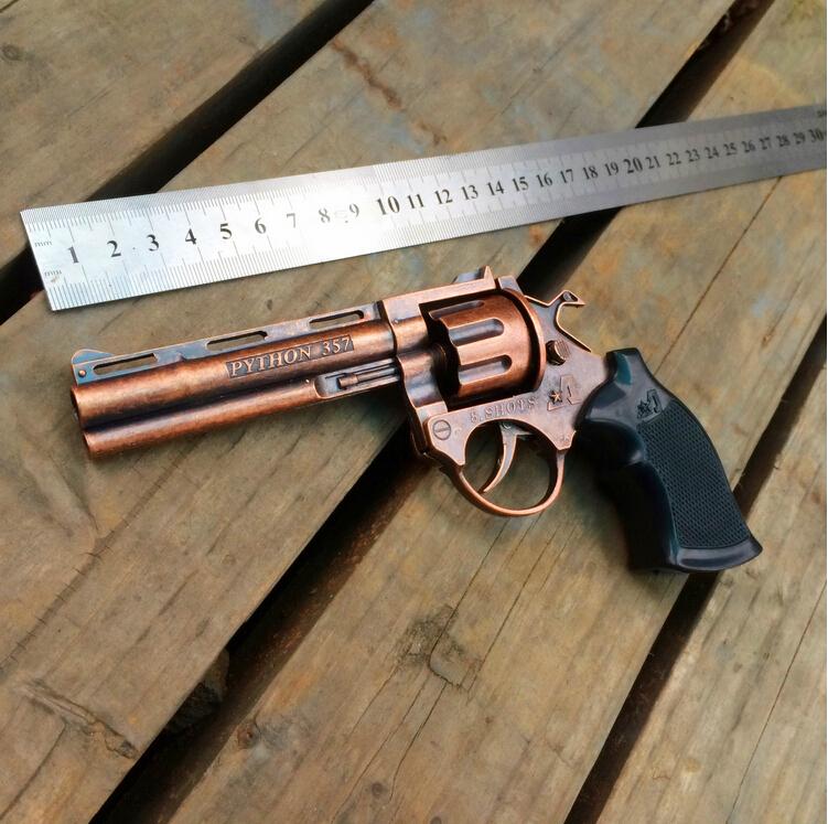 nerf 8090 classic nostalgic toys Match gun revolver gun cannon classic gift smashing metal toy gun(China (Mainland))