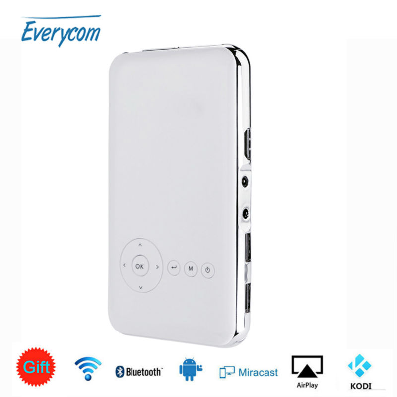 Buy everycom s6 plus android ac3 for Bluetooth handheld projector