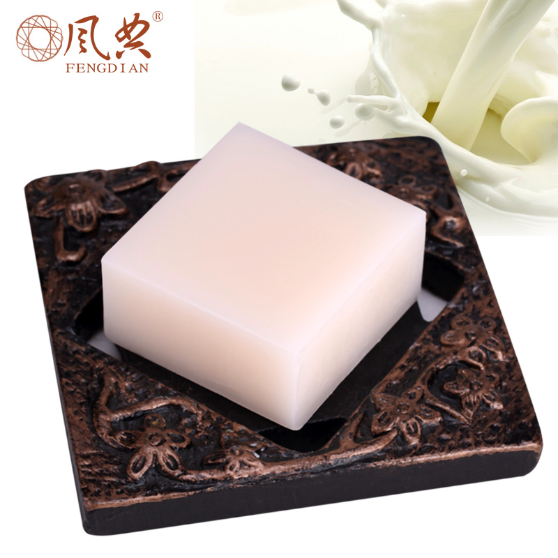 Goat Milk Soaps Blackhead Remover Facial Soap Cleanser Acne Treatment Facial Cleanser Whitening Extractor Skin Care Face(China (Mainland))