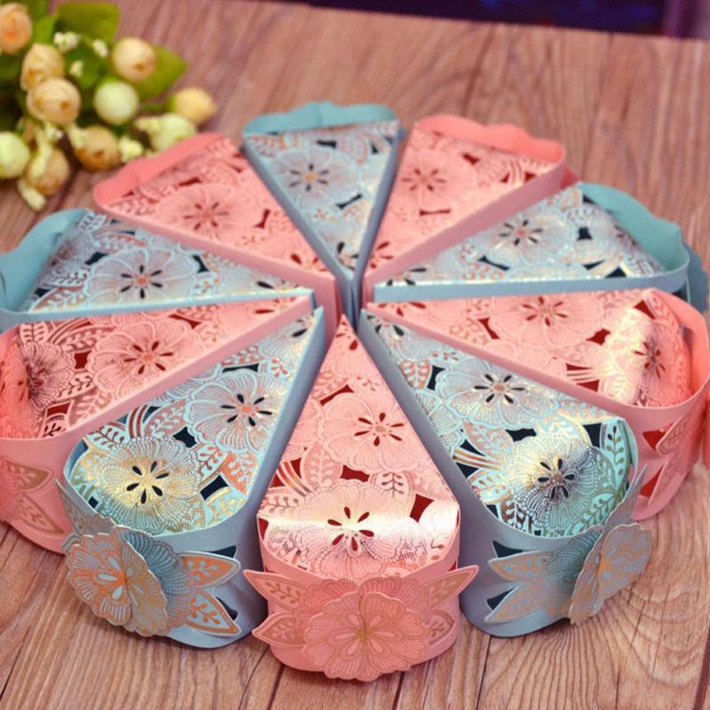 5PCS Wedding Candy Box Red/Pink/Purple/Blue Laser Cut hollow Wedding Favor Boxes Wedding Favors Gifts L50(China (Mainland))