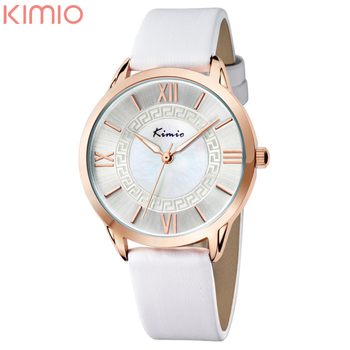 2016 New Arrival Kimio Luxury Brand Women Watch Casual Leather Belt Rhinestone Ladies Dress Watches Wholesale