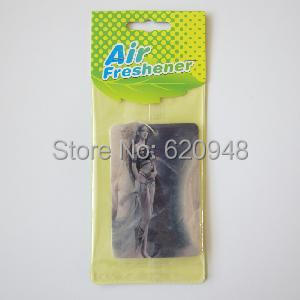 Free Shipping Via Fedex or DHL ,car fragrance paper air freshener(China (Mainland))