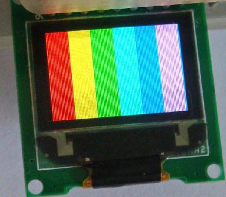 Free Shipping! 4pc 0.95 inch 96x64 color oled module(China (Mainland))