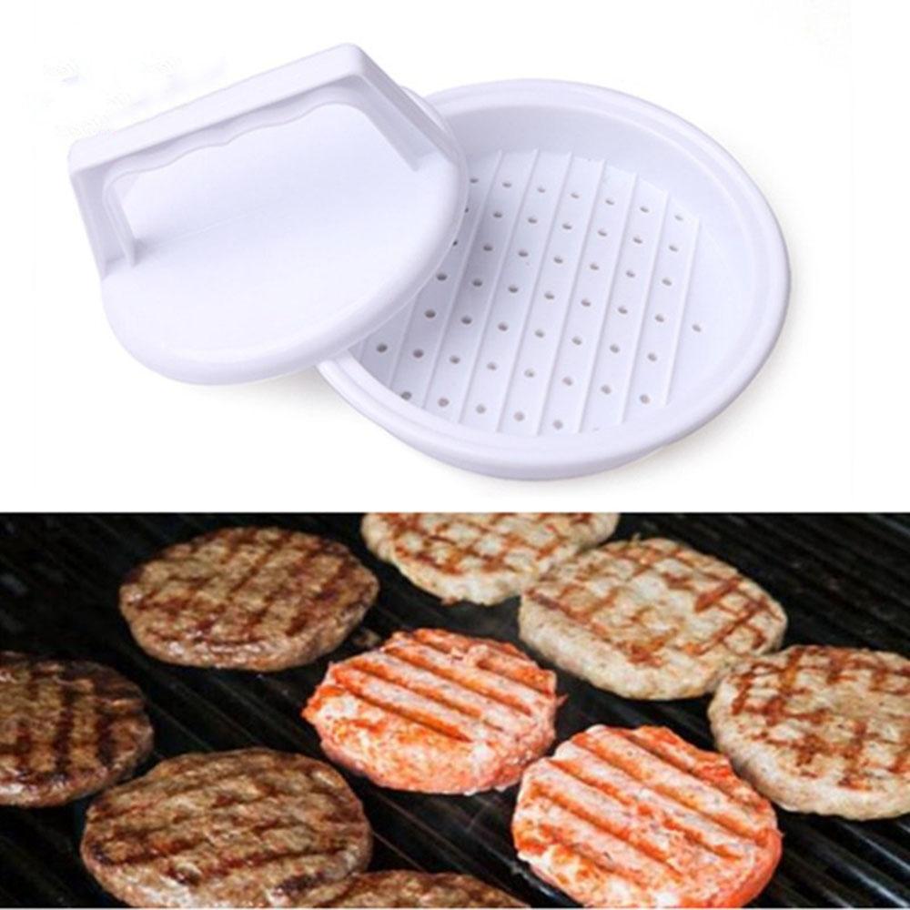 1 set diy hamburger di carne press strumento carne patty makers burger maker mold food