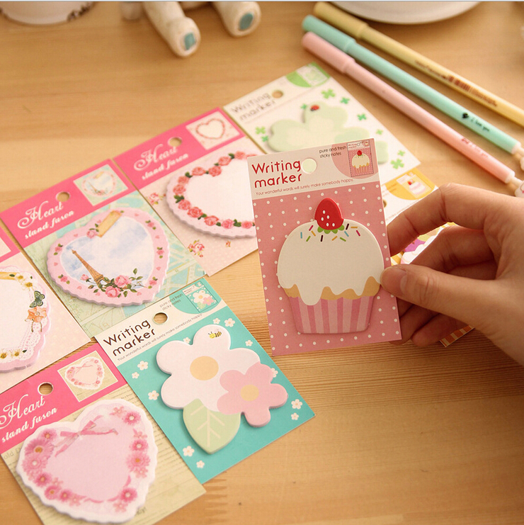 Cute Cartoon Post-It Notes Index Flag Sticky Notes Paper Stickers Memo Pad Bookmark Marker TRD<br><br>Aliexpress