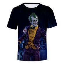 Летняя KPOP футболка haha joker 3D последний альбом Футболка мужская runningкороткий рукав CONNEOT модная футболка плюс размер(China)