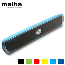 1200Mah Portable Wireless Bluetooth Speaker 6W Stereo Sound with Microphone Super Bass Full-range Sound HIFI Speakers MP3 MP4 PC(China (Mainland))