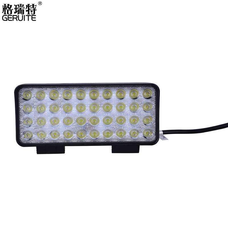 Car 120W Cree Spot Lights Ultra Bright High Power Car Light Waterproof driving led Headlight lamp bar Offroad SUV ATV Work Light(China (Mainland))