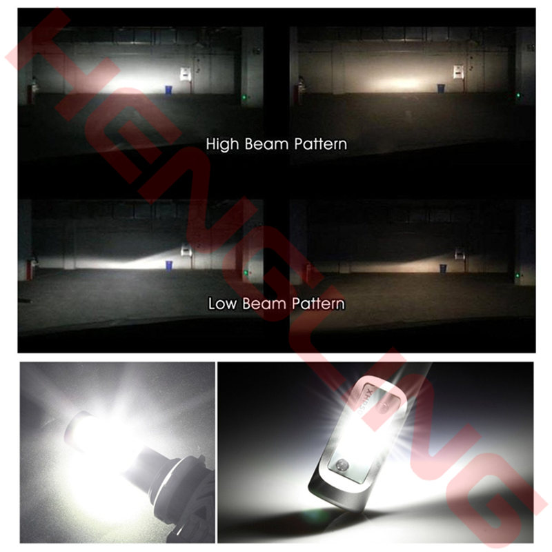 G8 Auto H8 LED H4 9007 H13 9004 car Headlights 72W 6000 K 12000LM 12 V COB Car Bulbs White Diodes Replace Car Light Parts Lamps