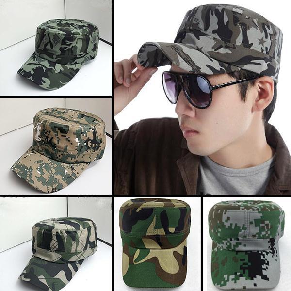Brand New Caps Flat Hip Hop Cap Casquette Gorras Hat Adult Camouflage Adjustable Hats For Men Women Planas random Ship(China (Mainland))