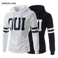 New Fashion Letter Print Hoodie Men s Hooded pullover Sweatshirts Casual Assassin Creed Sleeve Hoodies Man