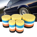 5pcs Set 3 4 5 6 7 Inch Buffing Sponge Polishing Pad Hand Tool Kit For