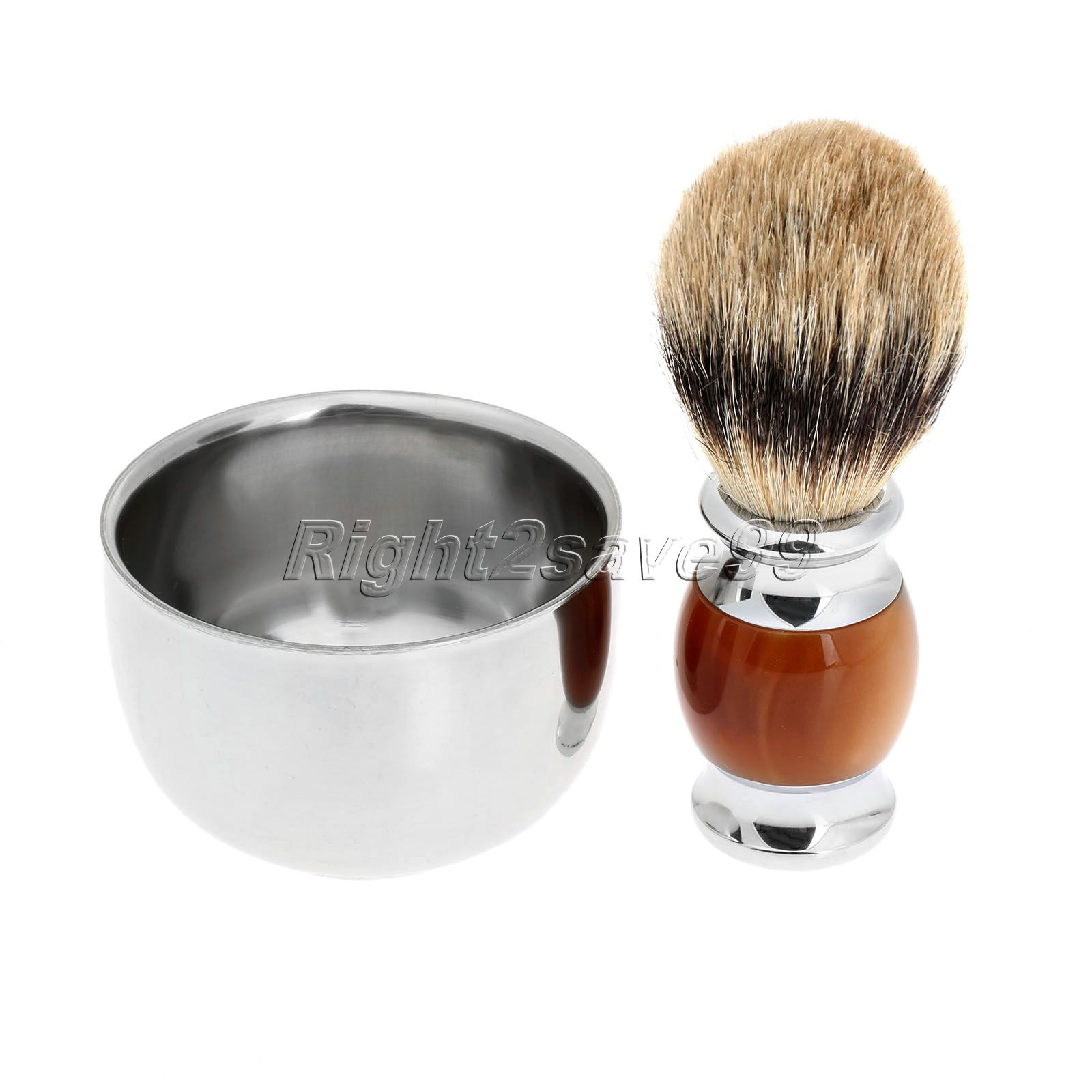 New High Quality Pure Badger Shaving Brush Resin Handle