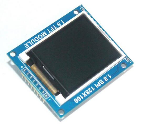 Free Shipping!!! 5pcs 1.8 Inch 128*160 Serial SPI TFT LCD Module Display + PCB Adapter Power IC SD Socket for 1.8'' 128x160(China (Mainland))