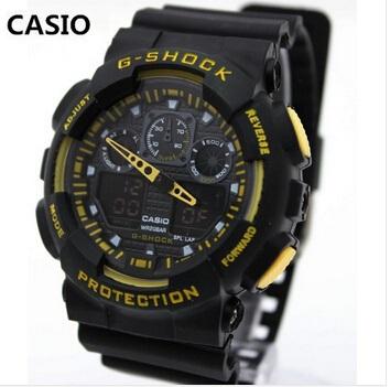 2015 New Fashion Wristwatches Dual time Digital Analog Quartz LED Watches women men sports Military watch Free Shipping(China (Mainland))