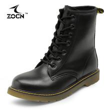 ZOCN Laddies Mujeres Atan Para Arriba Martin Botines Mujeres Botas de Invierno de Calidad de la Moda Martin Zapatos Botas Impermeables Botas de Nieve Caliente(China (Mainland))