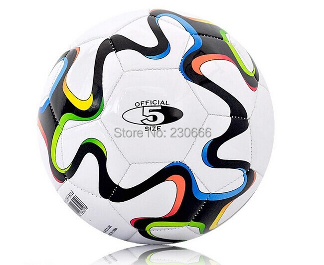 Free Shipping Football Ball New 2014 Brazuca Training Indoor Outdoor Soccer Size 5 Hot Sale(China (Mainland))
