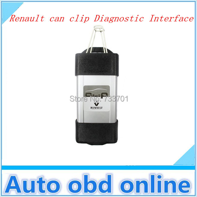 2014 Newest support multi-languange Car Diagnostic tools Renault Can Clip V139 Auto Diagnostic interface(China (Mainland))