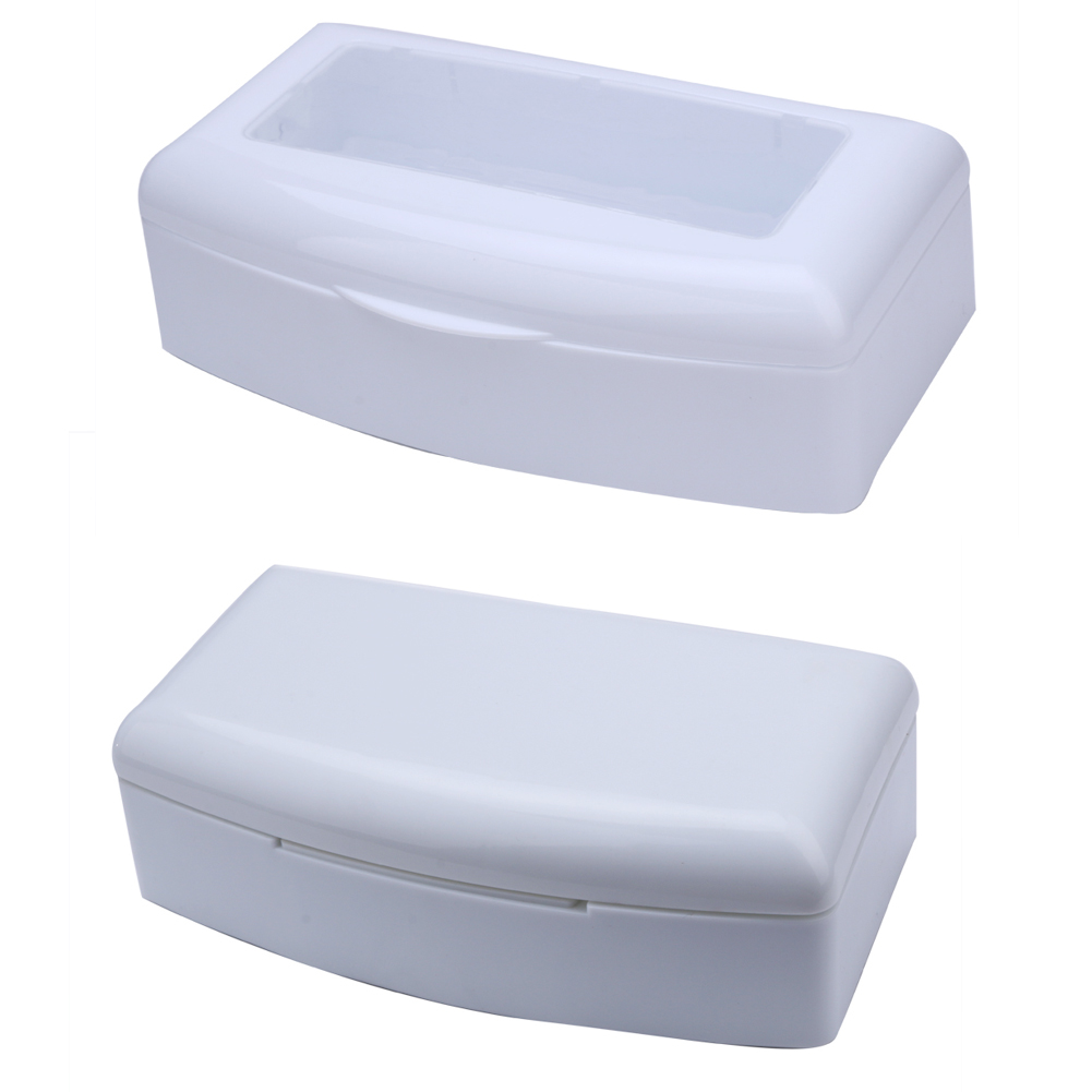 1PC Pro Nail Art Imported Resin Sterilizer Disinfection Box Salon Nail Metal Tools Disinfector