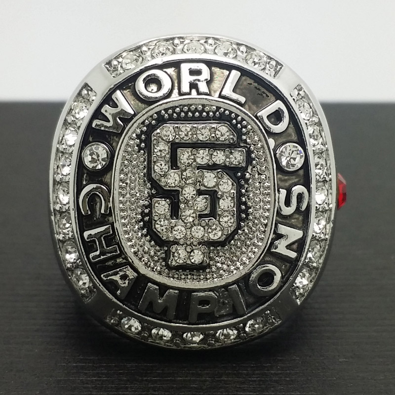 Solid 2010 San Francisco Giants MLB World Series Championship Alloy Ring 11 Size 'Bochy' Fans Gift Collection - ring store