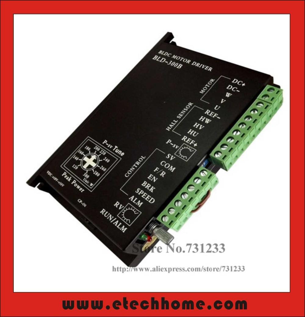 24V 36V48V BLDC Motor Driver 300W 18V-50V DC Brushless Controller BLD-300B - E-tech Industrial Co.,LTD store