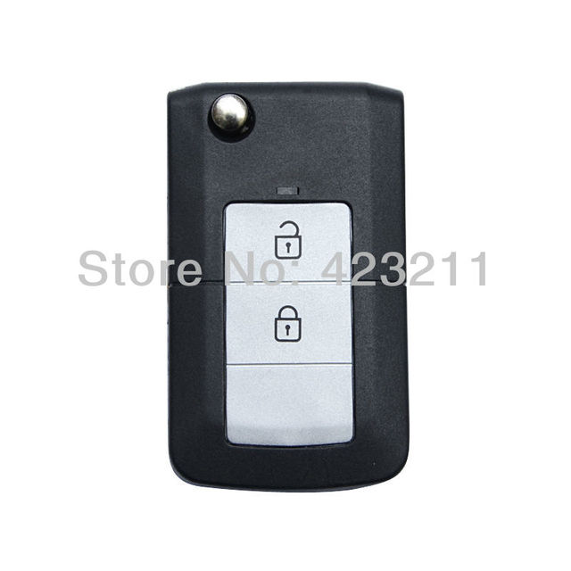 Ultrathin Folding Remote Key Shell Case For HYUNDAI ELANTRA 2 Buttons  FT0007