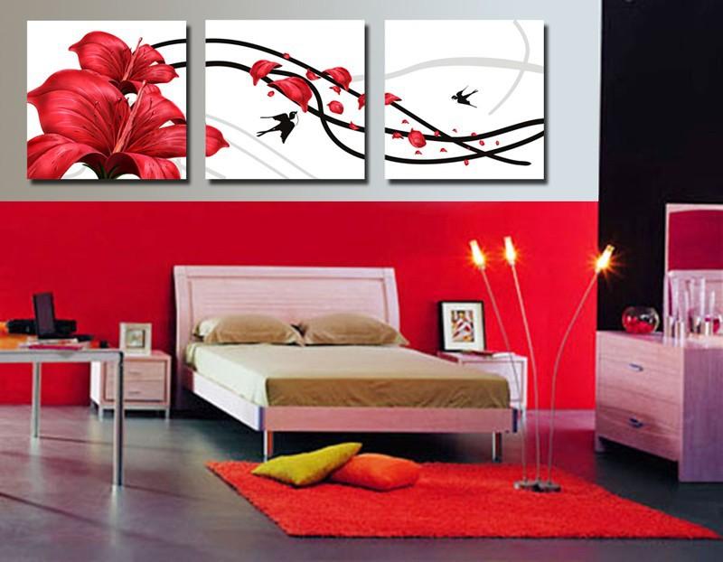 rode slaapkamer muur  consenza for ., Meubels Ideeën