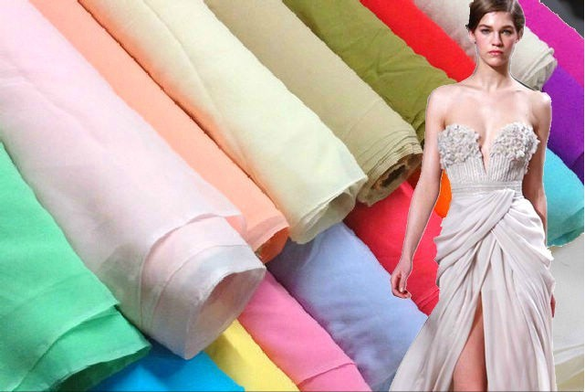 Multicolor silk georgette solid color 100% mulberry silk fabric 114 cm 8 mm lining dress scarf silk fabric retail(China (Mainland))