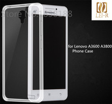 for Lenovo A3600 A3800 case Brand Ultra thin Transparent TPU Soft Protective Back Cover Case for Lenovo A3600D A3800D Phone Case