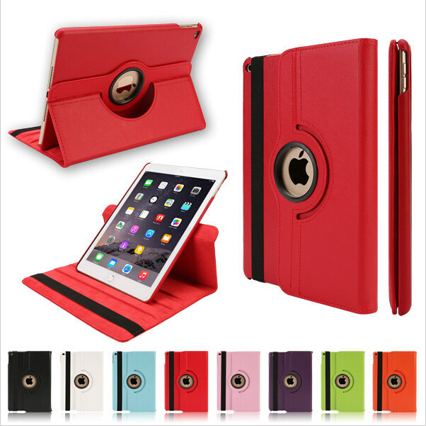 Hot Ultra Slim Magnetic Smart Case iPad Air Cover 360 Degree Rotating Leather Stand Flip 6 2 - Green Lake Electronics Co., Ltd. store