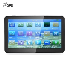 New Arrival 7 inch 704 Truck Car GPS Navigation Navigator Win CE 6.0 Touch Screen 800 x 480 Multi-media Player with Free Maps