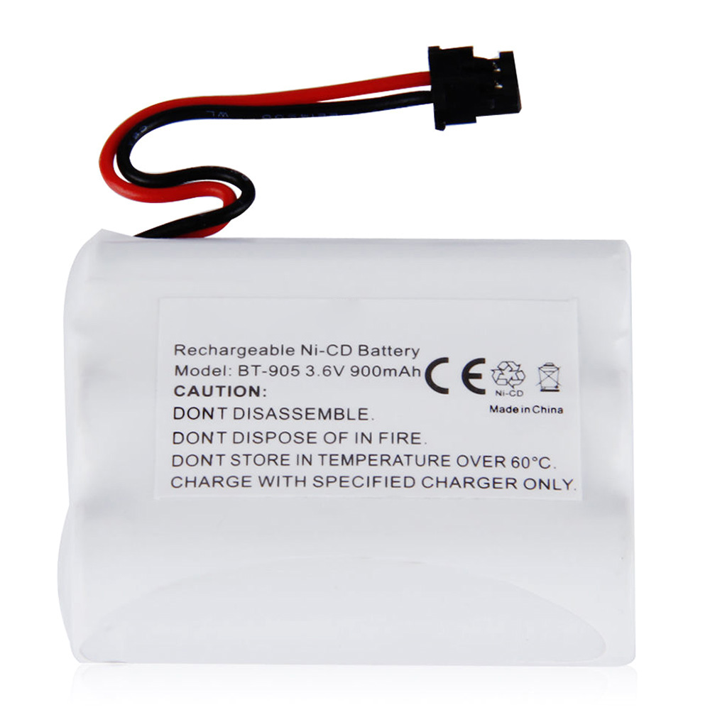 Set Sale 3X 3.6V 900mAh Ni-MH Phone Battery for Uniden BT-905 White