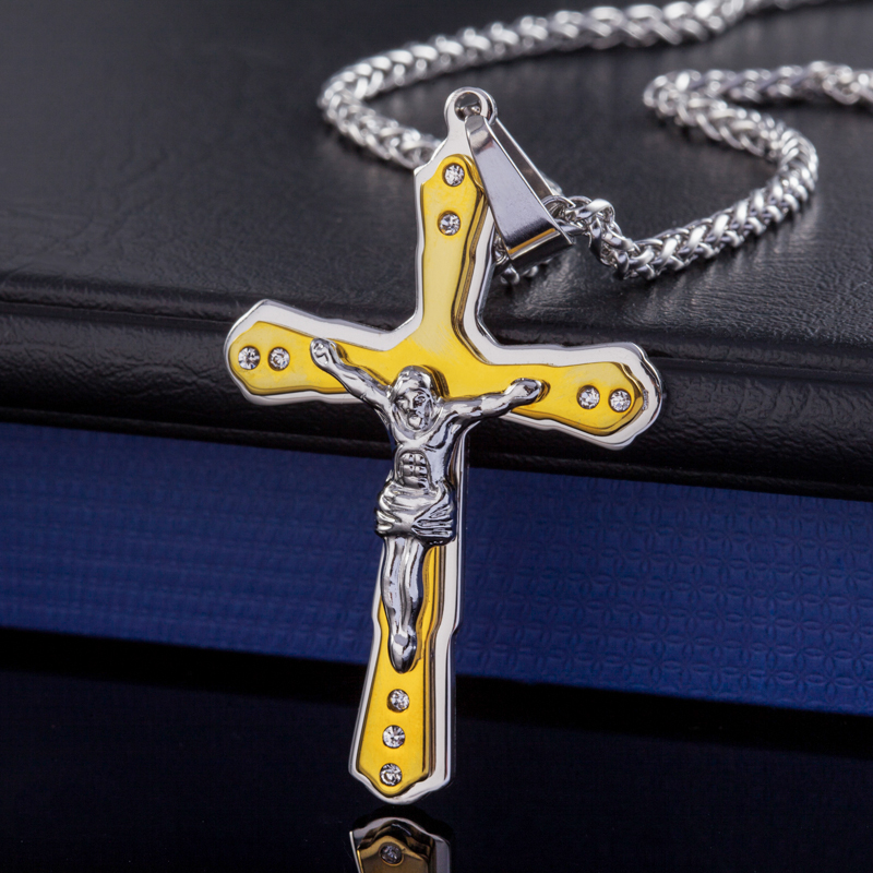 The new Islamic fashion jewelry Allah necklace pendants titanium steel-plated 18K gold pendant necklace wholesale, free shipping(China (Mainland))
