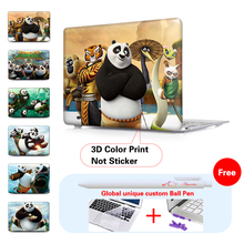 Kung Fu Panda 3 Matte Hard Cover protective Case For Apple Macbook Air Pro 11 12 13″ 15 inch Pro Retina 13″ 15.6 Laptop Case
