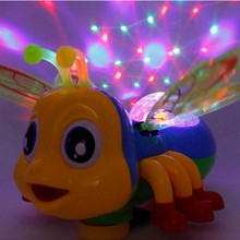 Kids Electric Toys Cute Bee Sing And Dance With Sound Lights for Girls Boys Children Electronic Pets FRee Shipping(China (Mainland))
