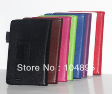 quality Leather Case Cover Stand For ASUS MeMo Pad ME172V 7 inch 50pcs/lot(China (Mainland))