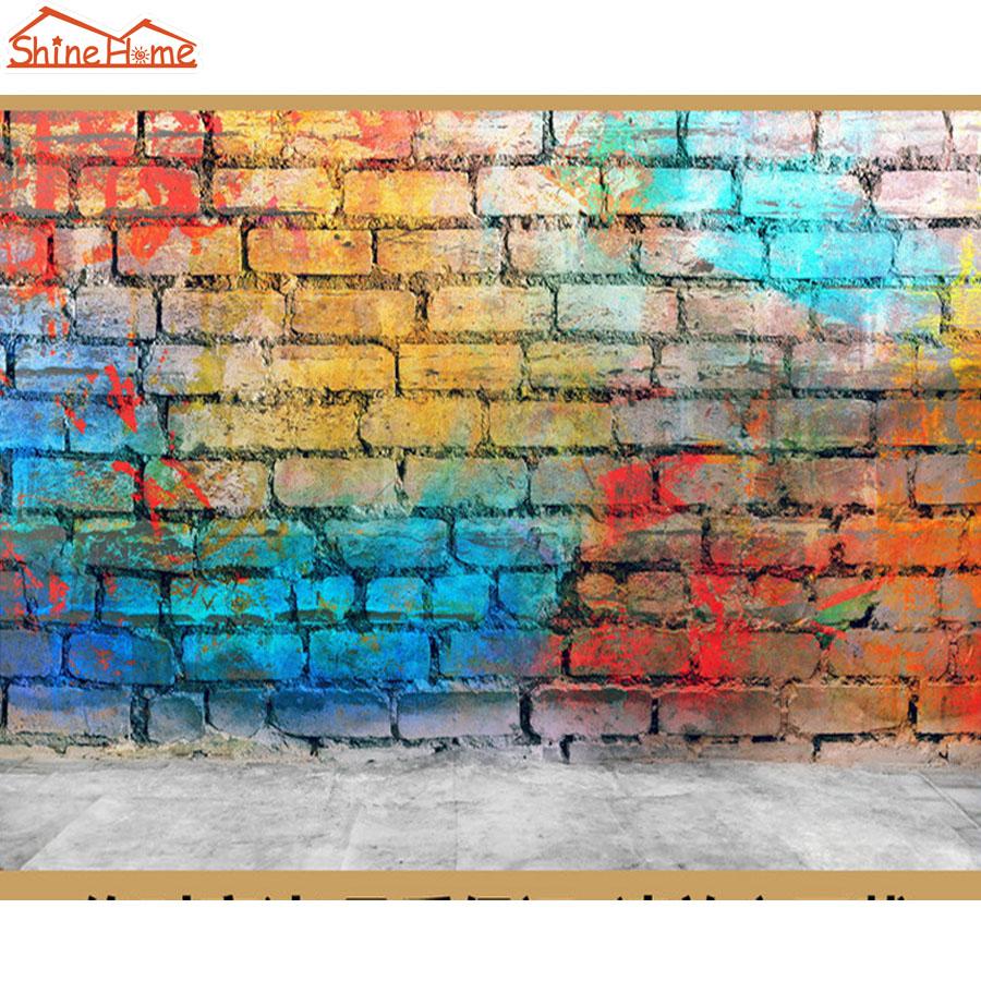 Ladrillos de graffiti pintado al por mayor de alta calidad - Pintura color ladrillo ...