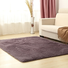 100*120cm/39.37*47.24in microfiber silk carpet Comfortable and soft rug for living room(China (Mainland))