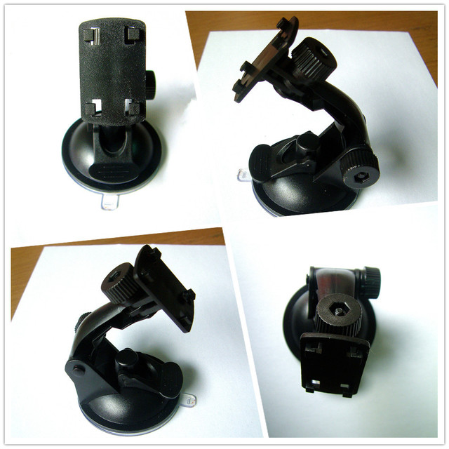 Free Shipping Wholesale Easy Operation Car Camera Suction Cup Mount Holder For Car Driving Recorder DVR GS1000 GS2000 GS800 M900