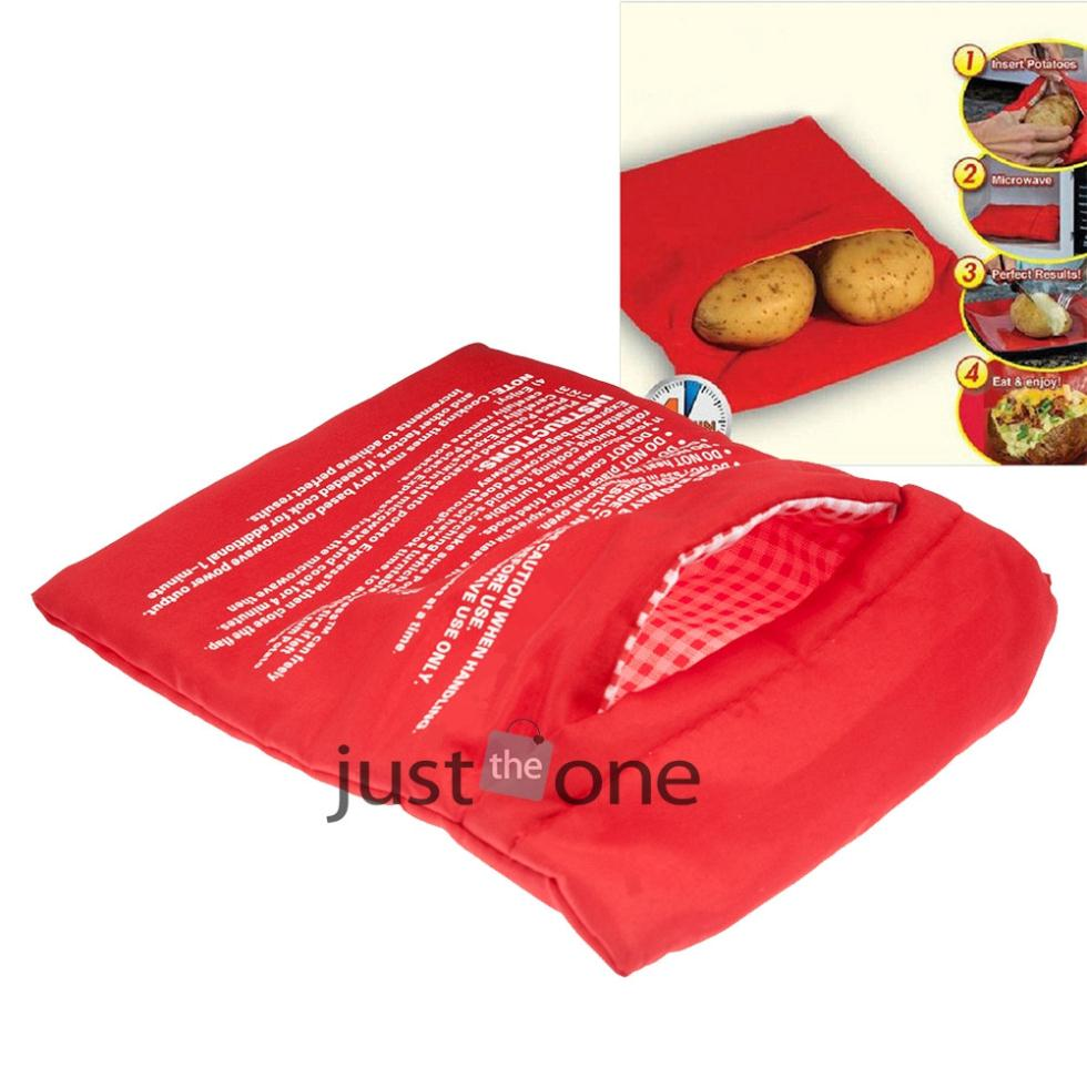 1x Cooker Bag Washable Baked Cooking Roast Potato Microwave Bag Kitchen Accessories Gadget(China (Mainland))