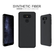 Buy Original Nillkin synthetic fiber phone case lg g6 case 5.7 inch Hard Carbon Fiber PP Plastic Back Cover Case lg g6 cover for $9.99 in AliExpress store