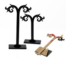 NEW Acrylic Earring Cute Tree Shaped Display Stand Holder 1Set Wholesale