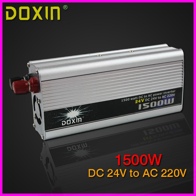 1500W DOXIN household car power inverter converter DC 24V to AC 220V car battery charger Adapter Car Power Supply ST-N014(China (Mainland))