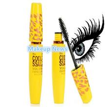NEW brand Ling Mei Foundation Make up Cosmetic Length Extension Long Curling Eyelash Black Mascara makeup max(China (Mainland))