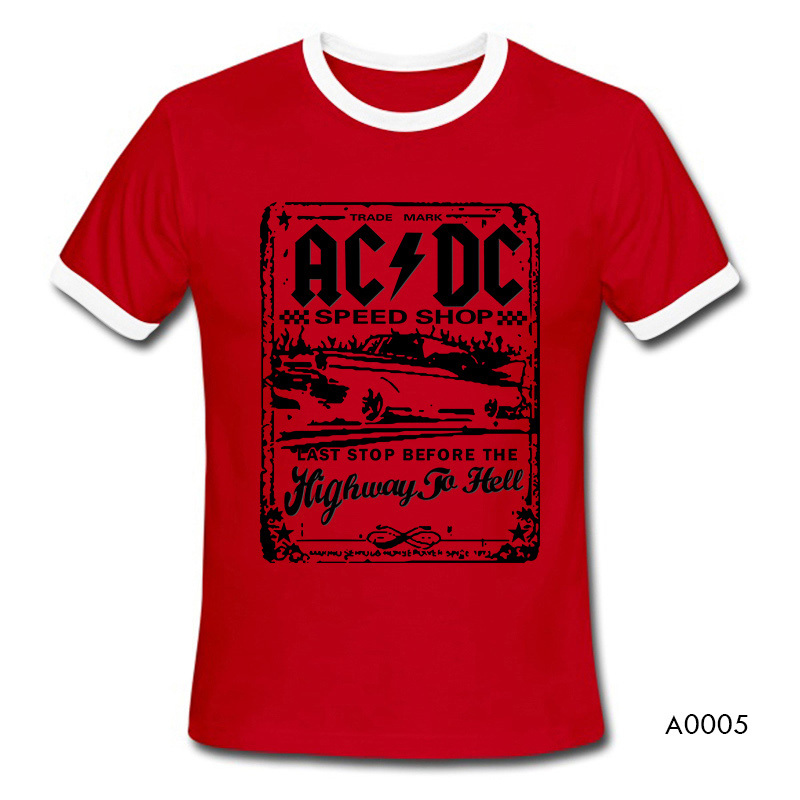 New Fashion Camisetas AC DC Speedshop T Shirts Mens acdc Graphic ... 7edbda2eaa842