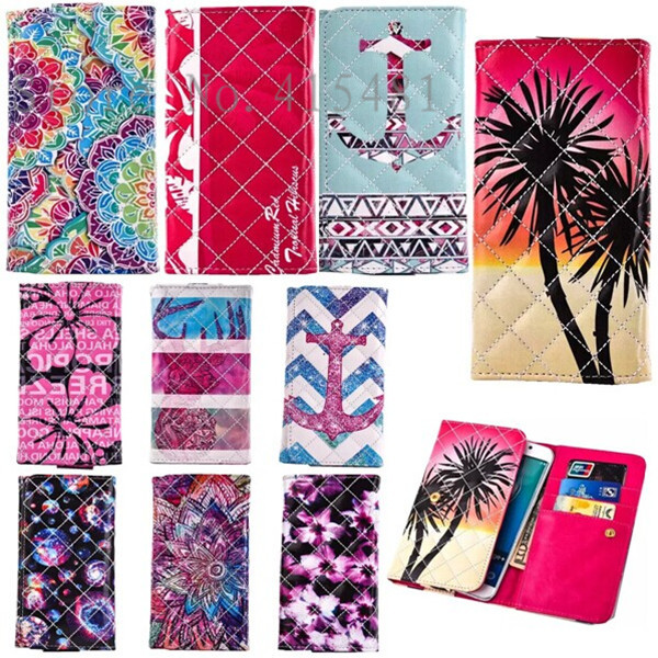 Top Quality Fashion Painting Wallet bag Protector Cover Card Slot Stand Soft Skin Lambskin PU Leather Case For HTC Desire 310(China (Mainland))